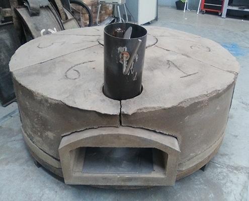 horno lena-construcción